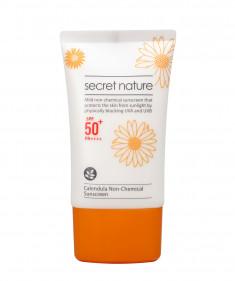 SECRET NATURE Крем солнцезащитный нехимический с календулой SPF50+/PA++++ 50 мл