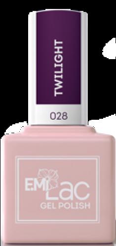 E.MI 028 гель-лак для ногтей, Сумерки / E.MiLac 9 мл