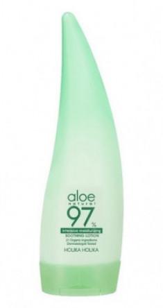 Лосьон для лица и тела интенсивно увлажняющий Holika Holika Aloe 97% Soothing Lotion Intensive 240мл