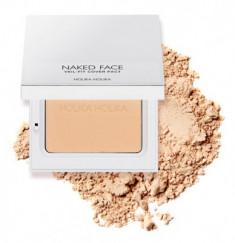 Пудра компактная Holika Holika Naked Face Veil-Fit Cover Pact 02 Natural Beige, натурально-бежевый 12 г
