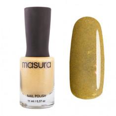 Masura, Лак для ногтей №1326, Горчичный желтый, 11 мл