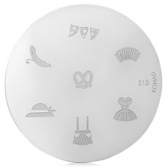 Konad, диск для стемпинга S13