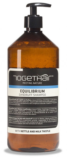TOGETHAIR Шампунь-детокс против перхоти / Equilibrium Shampoo dandruff 1000 мл