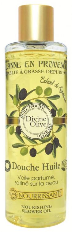 JEANNE EN PROVENCE Масло питательное для душа Божественная олива 250 мл