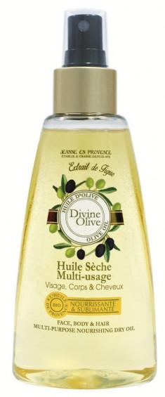 JEANNE EN PROVENCE Масло универсальное питательное сухое для лица, тела и волос Божественная олива 150 мл