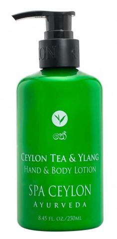 SPA CEYLON Лосьон для рук и тела Цейлонский чай и иланг-иланг 250 мл
