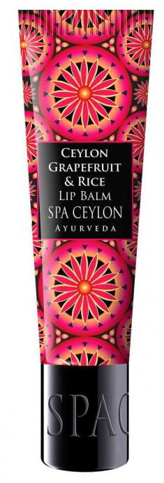 SPA CEYLON Бальзам питательный для губ Цейлонский грейпфрут и рис 12 г