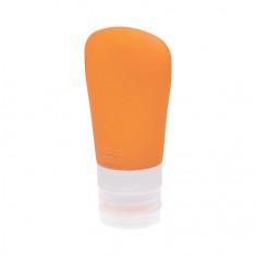 Dewal, Дорожная баночка с присоской, оранжевая