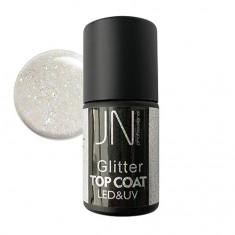 JessNail, Топ без липкого слоя Glitter №09, 10 мл