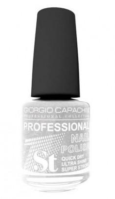 GIORGIO CAPACHINI 03 лак для ногтей, снежок / 1-st Professional 16 мл