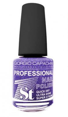 GIORGIO CAPACHINI 37 лак для ногтей, синие сумерки / 1-st Professional 16 мл