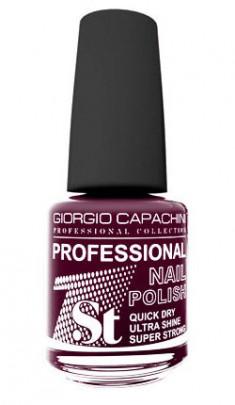 GIORGIO CAPACHINI 42 лак для ногтей, вишневый соблазн / 1-st Professional 16 мл