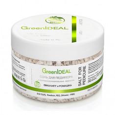 GreenIDEAL, Соль для педикюра «Эвкалипт и ромашка», 300 г