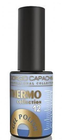 GIORGIO CAPACHINI 12 гель-лак трехфазный для ногтей / Thermo 7 мл