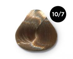 OLLIN PROFESSIONAL 10/7 краска для волос, светлый блондин коричневый / OLLIN COLOR 100 мл