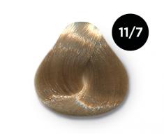 OLLIN PROFESSIONAL 11/7 краска для волос, специальный блондин коричневый / OLLIN COLOR 100 мл