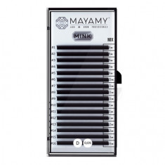 MAYAMY, Ресницы на ленте Mink Mix, D-изгиб, 0,05 мм