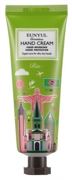 EUNYUL Крем с экстрактом зеленого чая для рук Рио 50 г