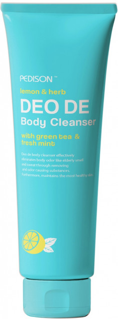 EVAS Гель для душа Лимон - мята / Pedison DEO DE Body Cleanser 100 мл