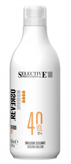 SELECTIVE PROFESSIONAL Эмульсия окисляющая 12% (40 vol) / REVERSO OXY 1000 мл