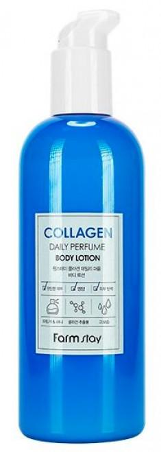 FARMSTAY Лосьон парфюмированный с коллагеном для тела 330 мл