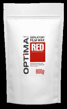 DEPILTOUCH PROFESSIONAL Воск пленочный в гранулах, с маслом нероли / OPTIMA RED 800 г