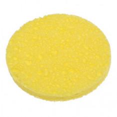 Dewal, Спонж для снятия макияжа, желтый, 2 шт.