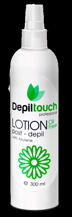 DEPILTOUCH PROFESSIONAL Лосьон азуленовый после депиляции / Depiltouch professional 300 мл