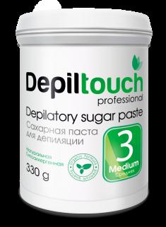 DEPILTOUCH PROFESSIONAL Паста сахарная средняя / Depiltouch professional 330 г