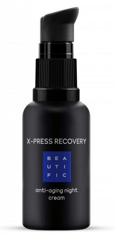BEAUTIFIC Крем интенсивно омолаживающий ночной с матриксилом и ретинолом / X-press Recovery 30 мл