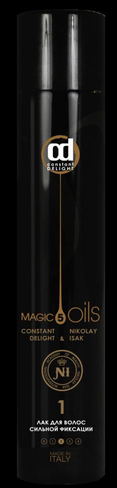 CONSTANT DELIGHT Лак сильной фиксации для волос №1, без запаха / Style 400 мл