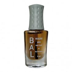 BAL Professional, Масло для ногтей и кутикулы «Корица и апельсин», 6 мл