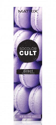 MATRIX Крем-краситель с пигментами прямого действия для волос, лавандовый десерт / SOCOLOR CULT 118 мл