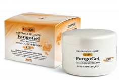 GUAM Гель антицеллюлитный контрастный с липоактивными наносферами для тела / FANGOGEL 300 мл