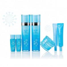 набор осветляющих средств с коллагеном enough w collagen whitening premium skin care 5 set