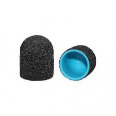 Muhle Manikure, Колпачок шлифовальный 13 мм, средний, черный, 10 шт.