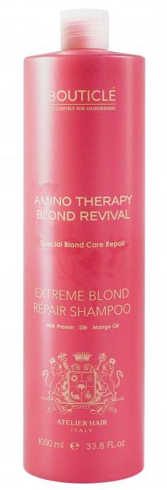 BOUTICLE Шампунь для экстремально поврежденных осветленных волос / Extreme Blond Repair Shampoo 1000 мл