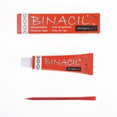 Binacil, Краска для бровей и ресниц, светло-коричневая, 15 мл