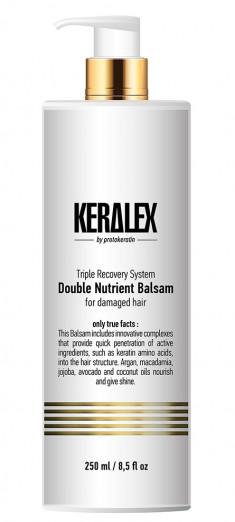 PROTOKERATIN Бальзам высокоинтенсивный дуо-питание / Keralex 250 мл
