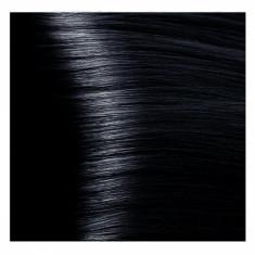 KAPOUS NA 1.1 краска для волос, иссиня-черный / Magic Keratin 100 мл