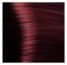 KAPOUS HY 5.6 краска для волос, светлый коричневый красный / Hyaluronic Acid 100 мл