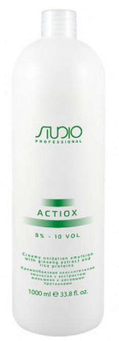 STUDIO PROFESSIONAL Эмульсия окислительная кремообразная с экстрактом женьшеня и рисовыми протеинами 3% / ActiOx 1000 мл