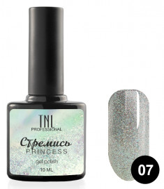 TNL PROFESSIONAL 07 гель-лак для ногтей Стремись / Princess 10 мл