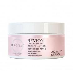 Revlon magnet anti-pollution restoring mask - восстанавливающая маска для волос 200 мл REVLON Professional