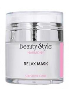 BEAUTY STYLE Маска с маслом ши и гиалуроновой кислотой для чувствительной кожи Релакс / Harmony 50 мл