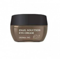 крем для век с муцином улитки jungnani derma ing snail solution eye cream