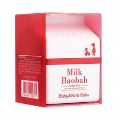 крем для лица и тела milkbaobab baby & kids balm cream