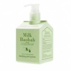 гель-лосьон для тела milkbaobab baby soothing gel lotion