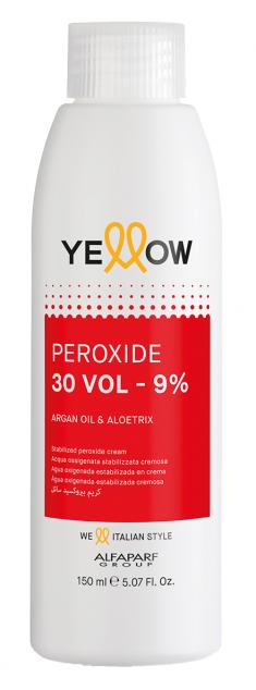 YELLOW Окислитель кремовый 9% (30 vol) / STABILIZED PEROXIDE CREAM 150 мл