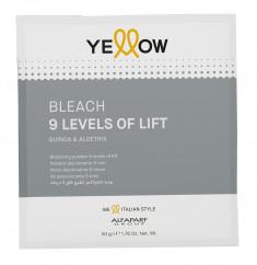 YELLOW Порошок для обесцвечивания волос до 9 уровней / YE Bleach 50 г
